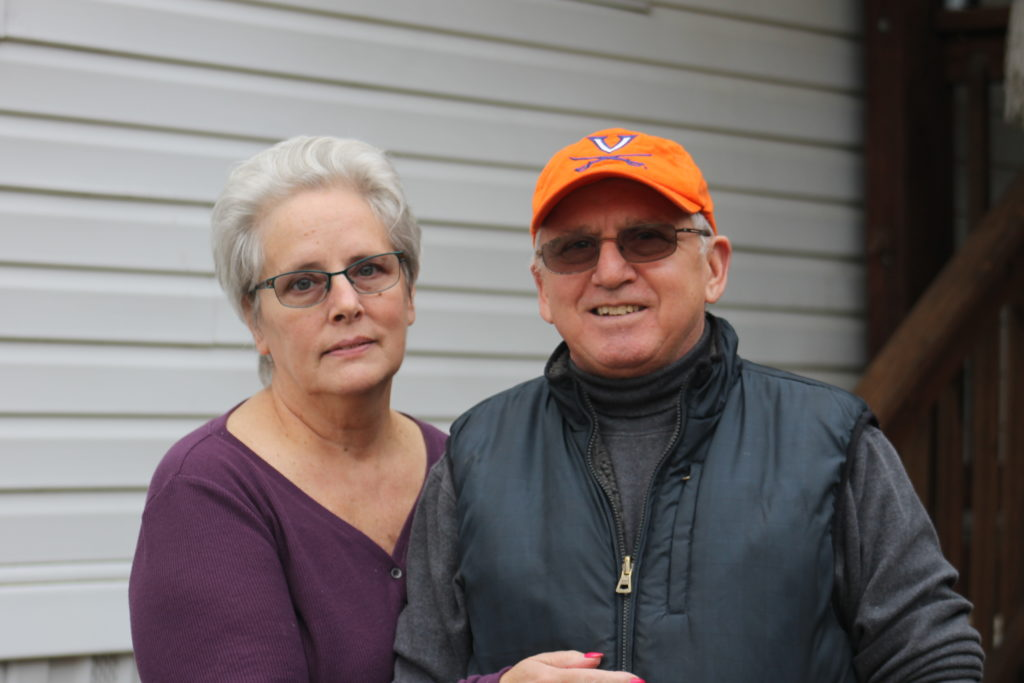 Portrait of Annette and Jerry Trombley